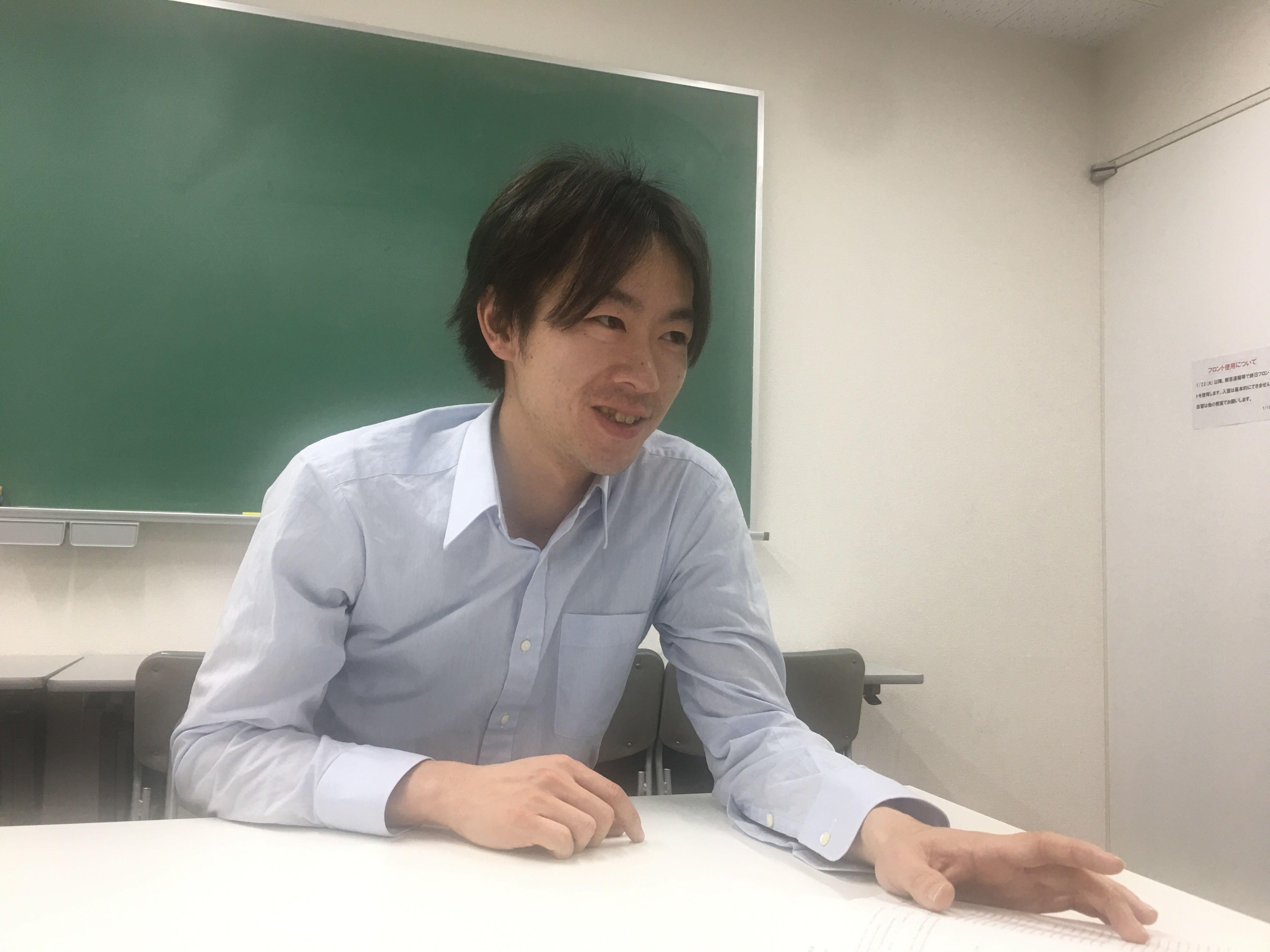 慶応進学会フロンティア講師・垣本 真吾(かきもと しんご)・講師メッセージ