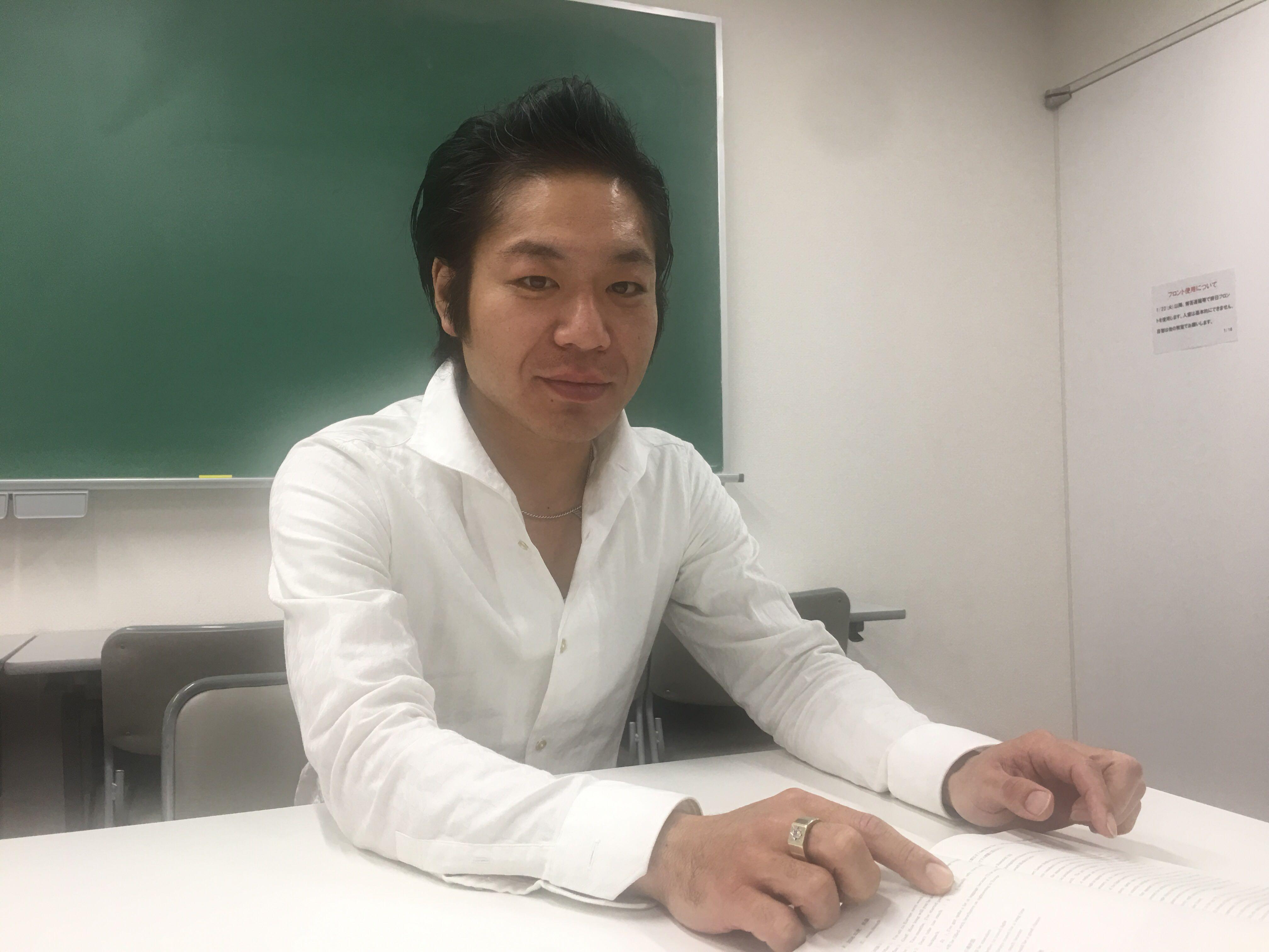 慶応進学会フロンティア講師:本多雅樹・講師メッセージ